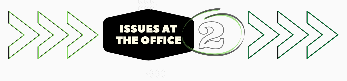 Issues at the Office 2